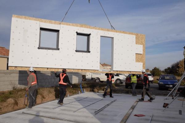 vidéo par done d'un chantier pour habitat de la vienne, en poitou-charentes